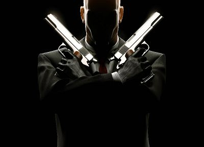 video games, Hitman, Agent 47 - random desktop wallpaper