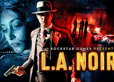 video games, Rockstar Games, L.A Noire, L.A. Noire - related desktop wallpaper