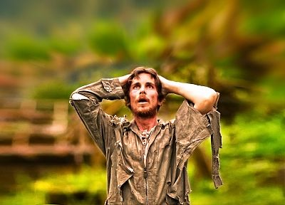 Christian Bale, actors, Rescue Dawn - random desktop wallpaper