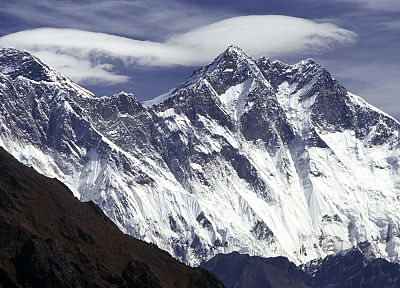 Nepal, Mount Everest - random desktop wallpaper