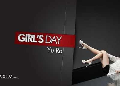 high heels, Korea, K-Pop, Maxim magazine, Yura, Girls Day - random desktop wallpaper