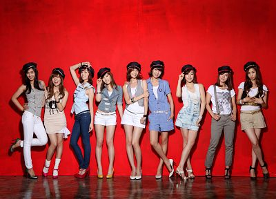 women, Girls Generation SNSD, celebrity, high heels, Seohyun, singers, Jessica Jung, Kim Taeyeon, Kwon Yuri, Im YoonA, Kim Hyoyeon, Choi Sooyoung, Lee Soon Kyu, hats, Tiffany Hwang - related desktop wallpaper