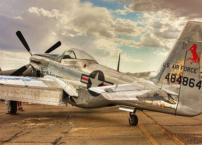 aircraft, World War II, fighters, P-51 Mustang - related desktop wallpaper