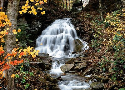 landscapes, nature, Pennsylvania, waterfalls - random desktop wallpaper