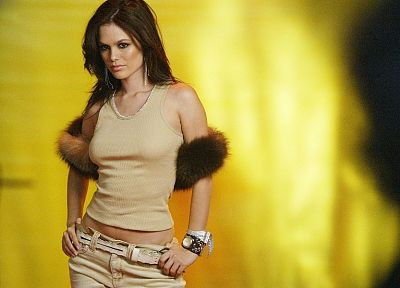 brunettes, women, actress, Rachel Bilson - desktop wallpaper