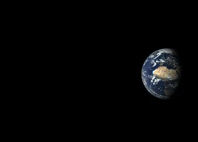 black, outer space, Earth - related desktop wallpaper