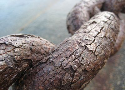 close-up, crack, rusty color, rusted, chains - random desktop wallpaper