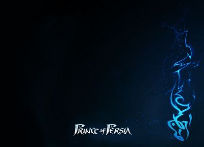 blue, minimalistic, Prince of Persia - desktop wallpaper