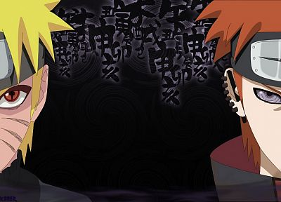 Naruto: Shippuden, Akatsuki, Sage Mode, Uzumaki Naruto, Pein - related desktop wallpaper