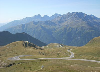 mountains, landscapes, nature, Austria, roads - related desktop wallpaper