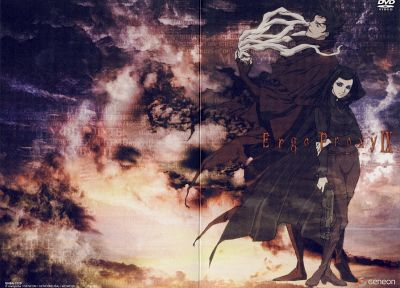 Ergo Proxy, Vincent Law, Re-l Mayer, anime - related desktop wallpaper