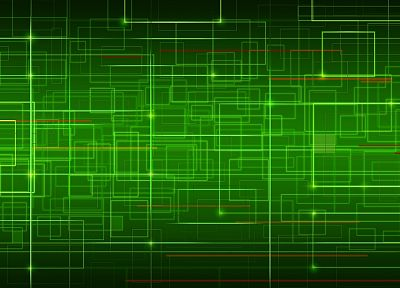 green, abstract - random desktop wallpaper