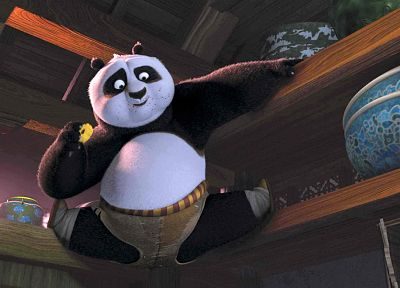 panda bears, Kung Fu Panda - related desktop wallpaper
