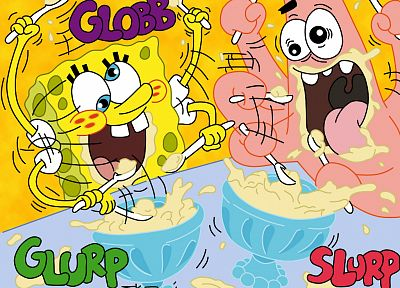 SpongeBob SquarePants, Patrick Spongebob, 1944 - related desktop wallpaper