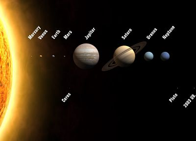 Sun, Solar System, Earth - random desktop wallpaper