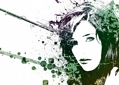 women, abstract, artwork - related desktop wallpaper