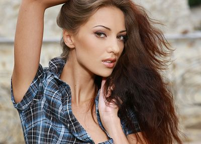 women closeup metart magazine anna sbitnaya faces