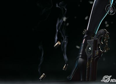 video games, high heels, Bayonetta - random desktop wallpaper