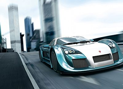 cars, Gumpert Apollo - desktop wallpaper
