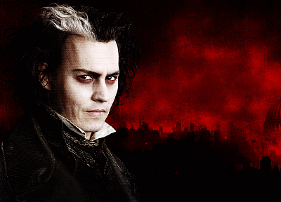 Sweeney Todd, Johnny Depp - random desktop wallpaper