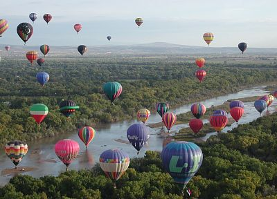 fiesta, hot air balloons - random desktop wallpaper