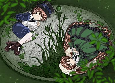 Rozen Maiden, Suiseiseki, Souseiseki - related desktop wallpaper