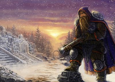 fantasy, dwarfs - random desktop wallpaper