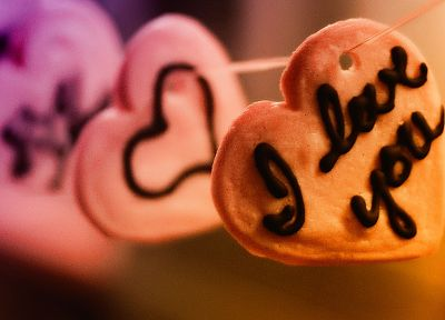 love, cookies, hearts - random desktop wallpaper
