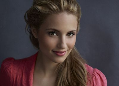 women, actress, Glee, Dianna Agron - random desktop wallpaper