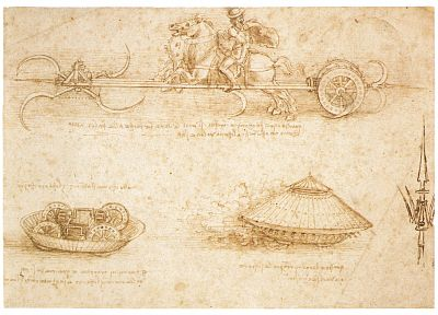 military, Leonardo da Vinci - related desktop wallpaper