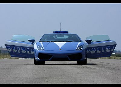 cars, police, Lamborghini, vehicles, Lamborghini Murcielago, Lamborghini Gallardo, italian cars - related desktop wallpaper