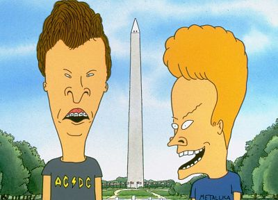 Beavis and Butt-head - random desktop wallpaper