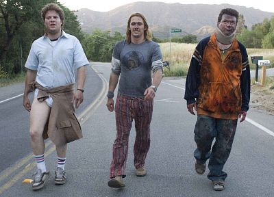 screenshots, roads, Pineapple Express, Danny McBride, James Franco, Seth Rogen - random desktop wallpaper