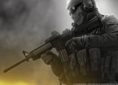 video games, Call of Duty, ghosts, Call of Duty: Modern Warfare 2 - random desktop wallpaper