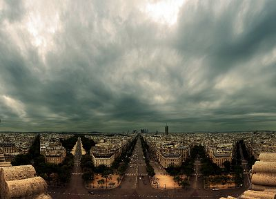 Paris, cityscapes, France, urban, buildings, overcast - related desktop wallpaper