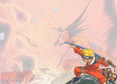 Naruto: Shippuden, Kyuubi, anime, Uzumaki Naruto - related desktop wallpaper