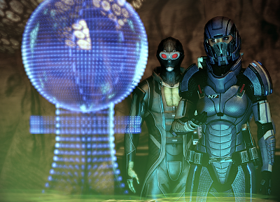 Mass Effect, screenshots, Thane, Mass Effect 2, EDI, Thane Krios, FemShep, Commander Shepard - random desktop wallpaper