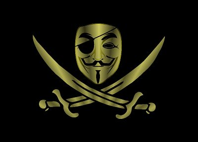 Anonymous, pirates - random desktop wallpaper