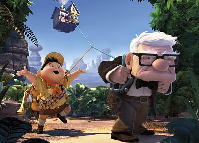 cartoons, Pixar, Disney Company, Up (movie) - random desktop wallpaper