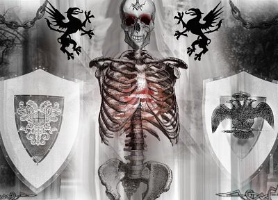 illuminati, New World Order, skull and bones - random desktop wallpaper