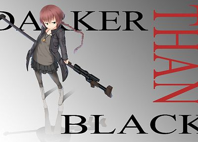 Darker Than Black, Pavlichenko Suou, Ptrd-41 - related desktop wallpaper