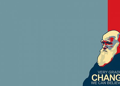 change, Charles Darwin - random desktop wallpaper
