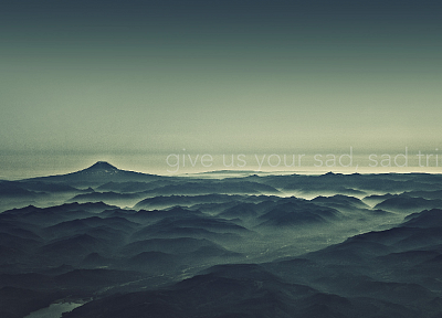 mountains, landscapes, sad - random desktop wallpaper