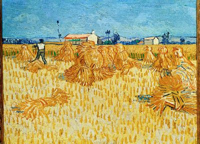 Vincent Van Gogh, artwork - random desktop wallpaper
