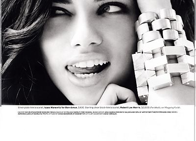women, Adriana Lima - desktop wallpaper