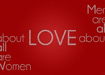 women, love, design, men, typography, Uni.Q - desktop wallpaper