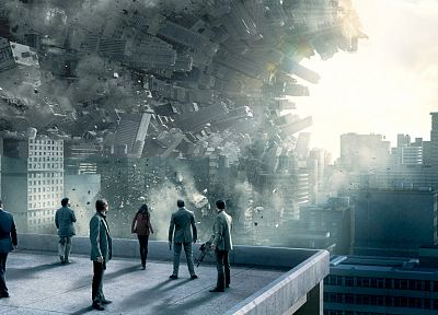 movies, Inception, reality, cities - random desktop wallpaper