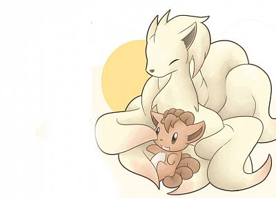 Pokemon, Vulpix, Ninetails - related desktop wallpaper