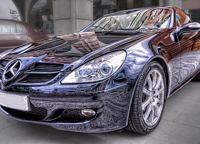 cars, HDR photography, Mercedes-Benz - random desktop wallpaper