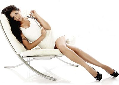 brunettes, legs, women, celebrity, Shay Mitchell, white background - desktop wallpaper